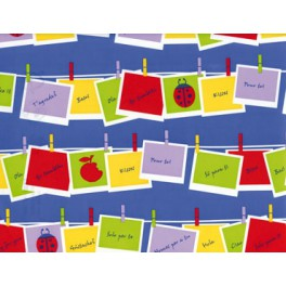 FB-A-0123 Fantasia brillo papel regalo